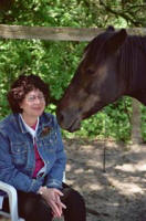 Janice Drescher with Missy